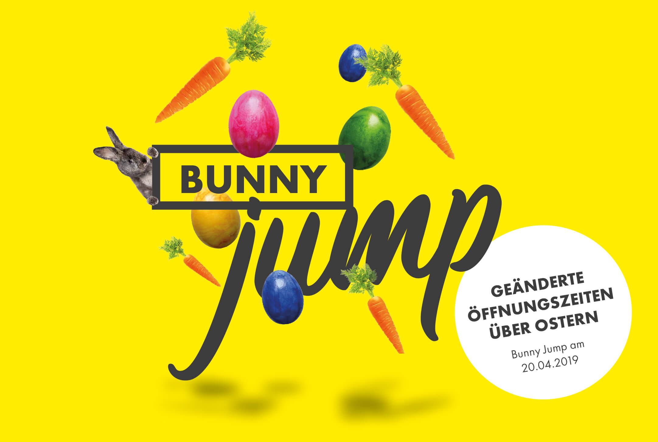 Ostern im Freizeitpark Netphen –Bunny Jump und geänderte Öffnungszeiten