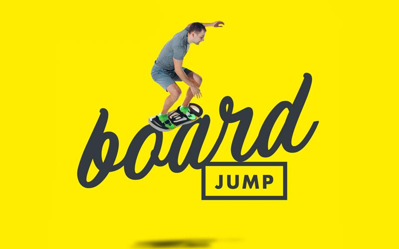 Mit B-Boards in der N-FLOW Trampolinarena abheben