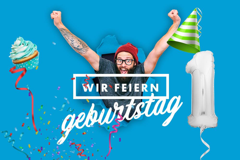 Feier mit uns Geburtstag! 02.11.19, 14:00 – 18:00 Uhr im N-FLOW