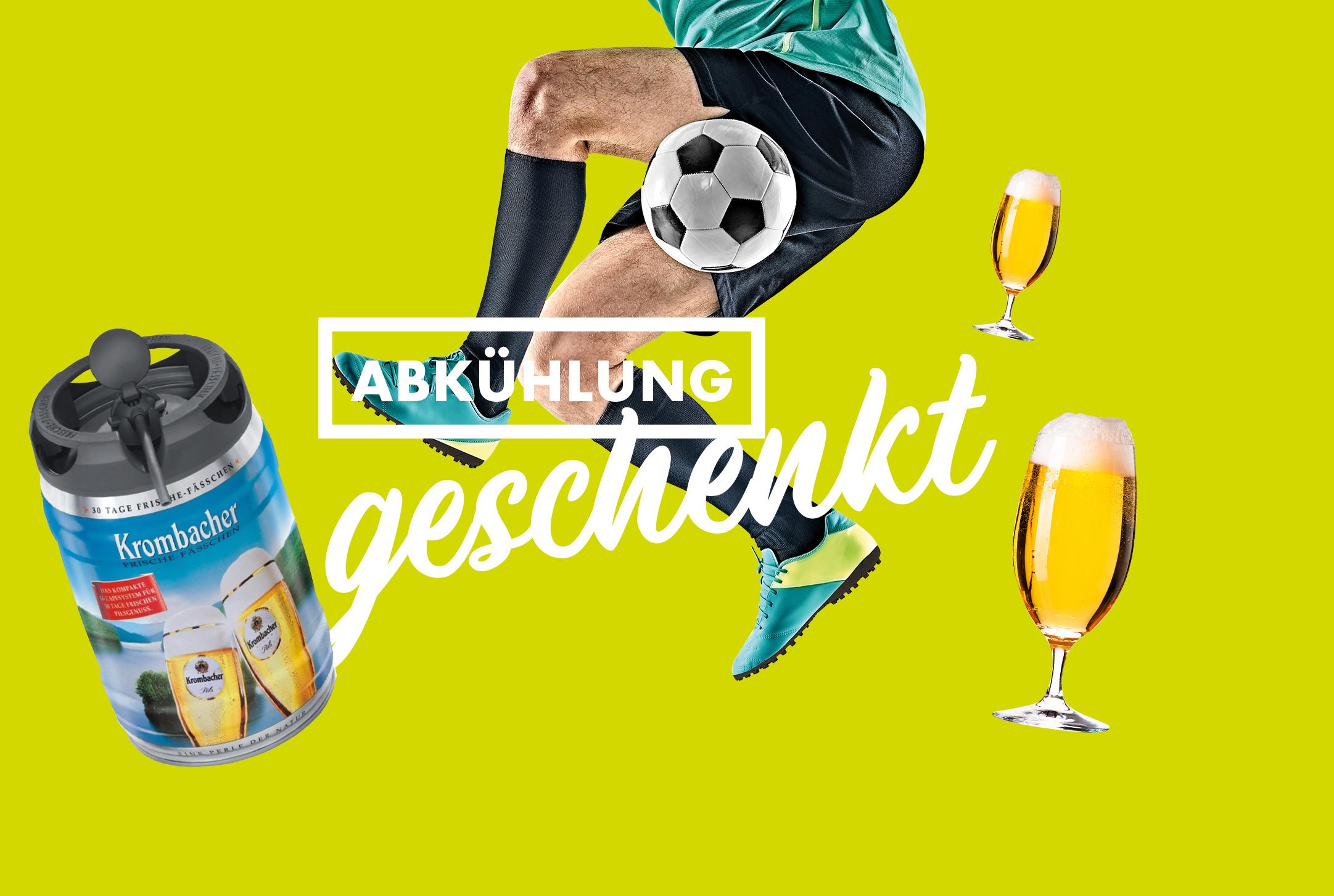 10x im Voraus buchen und Bier vom Fass genießen im N-FLOW Soccerpark