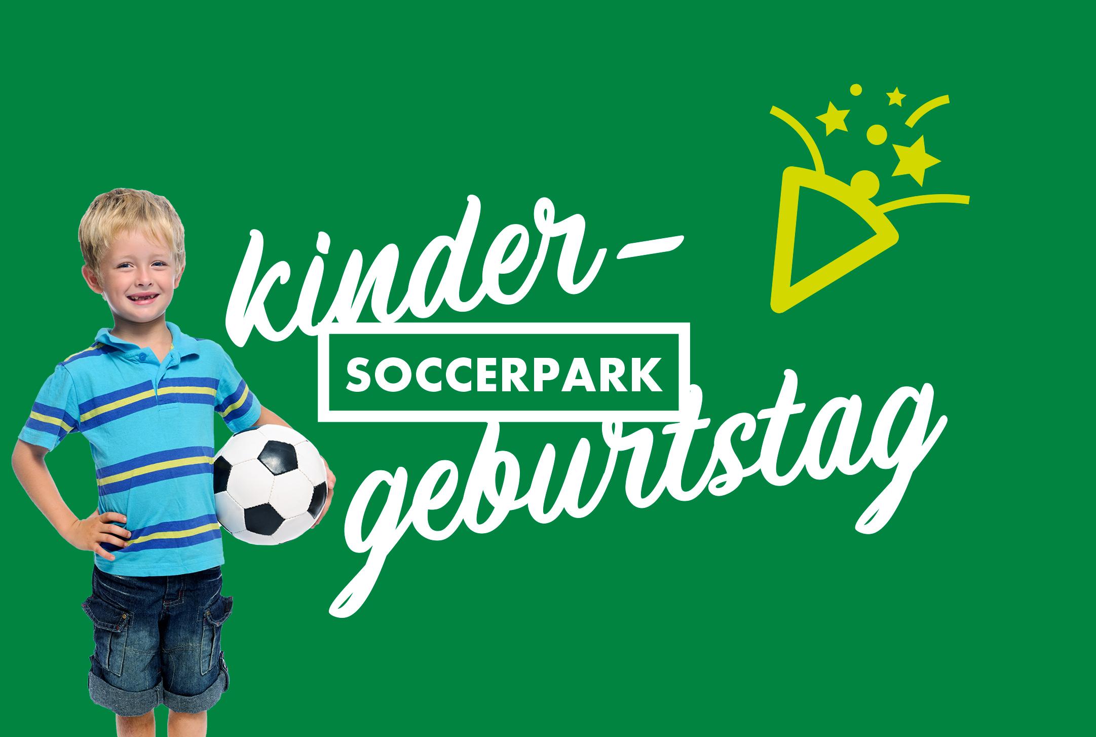 Kindergeburtstag im Soccerpark feiern mit Bewegung, Spaß und Verpflegung!