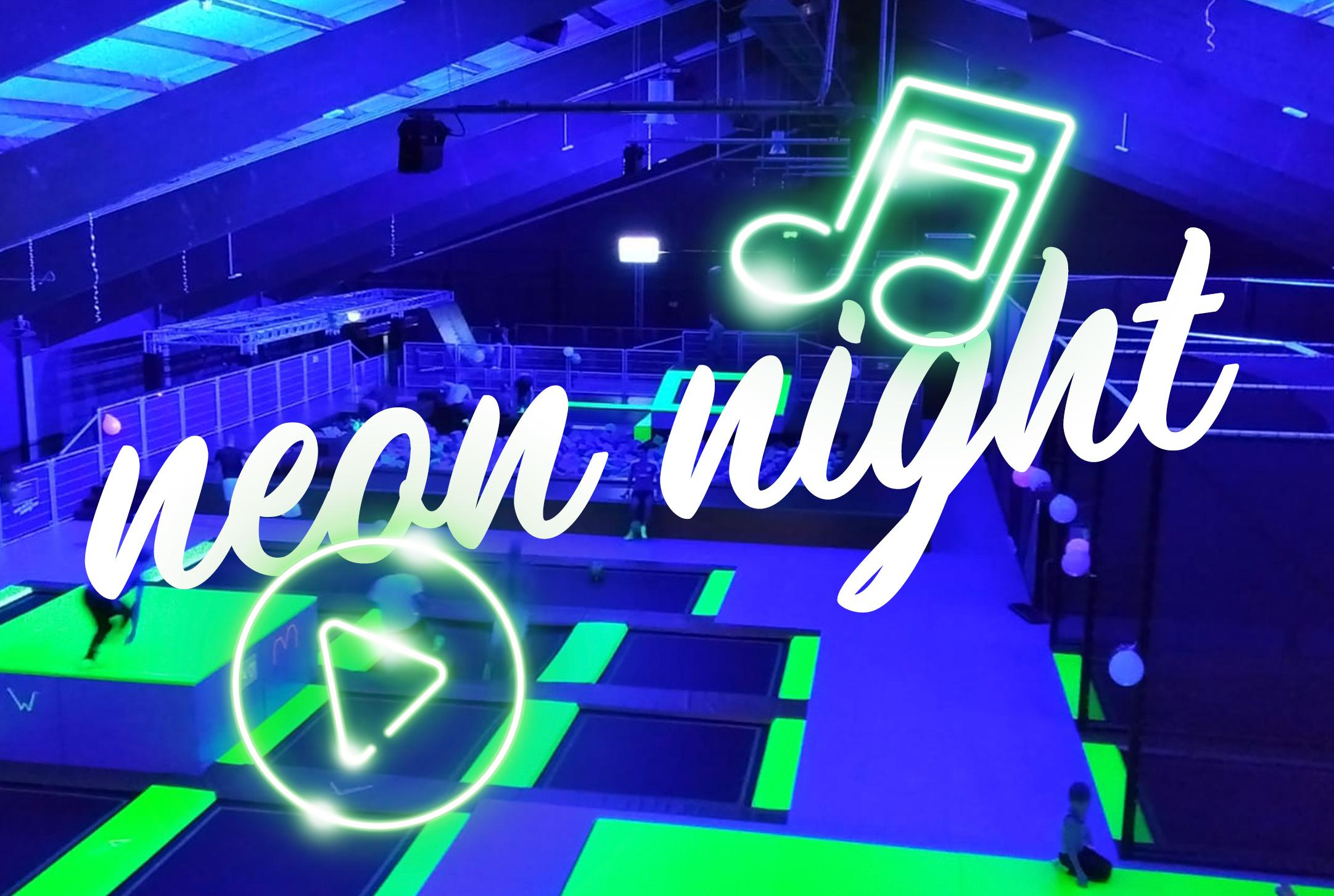 Neon Night: Springen in Clubatmosphäre