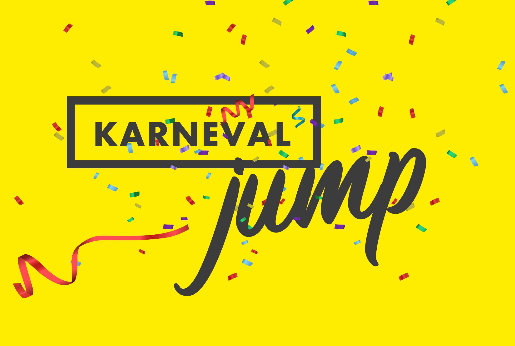 Karneval in der N-FLOW Trampolinarena