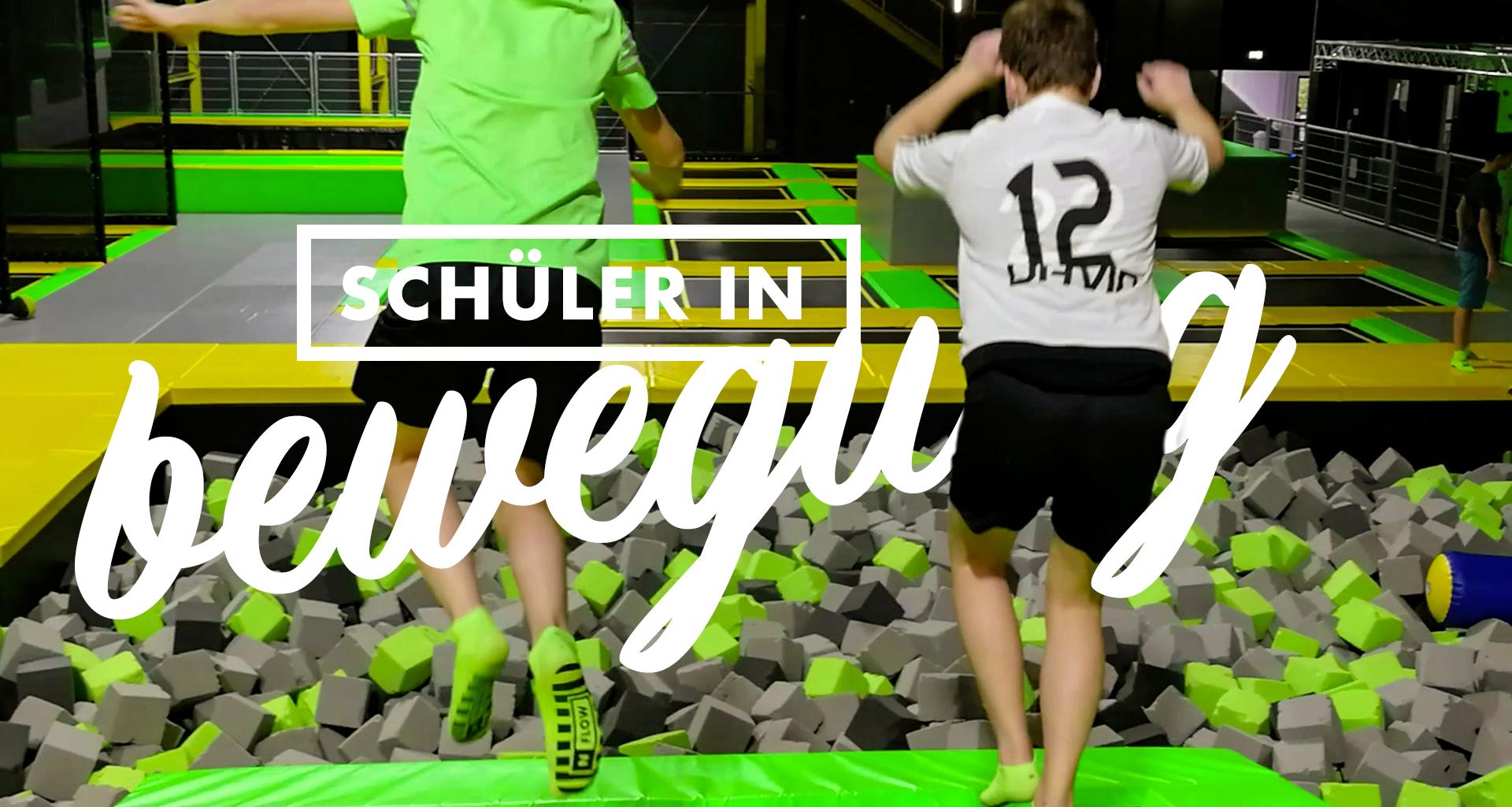 Sport mit Spaß: <br>Trampolin AG im N-FLOW